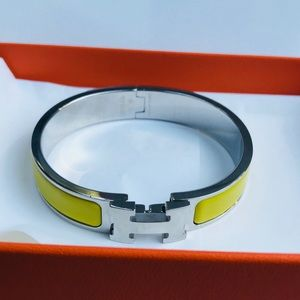 Hermes clicclac PM in yellow